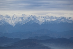 Glimpse of the Himalayas